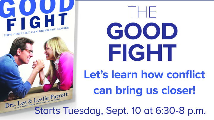 Marriage Enrichment Class: The Good Fight logo image