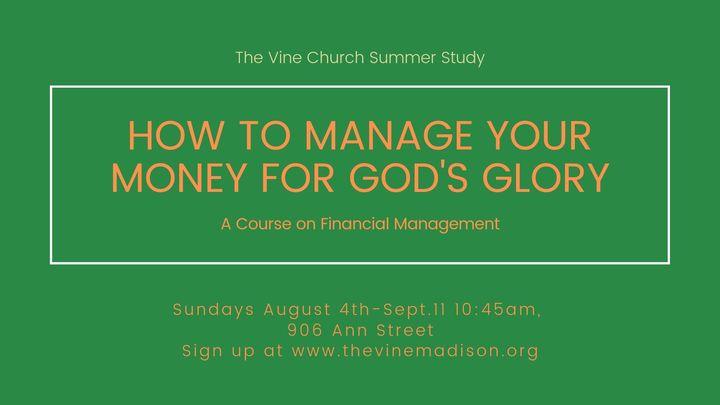 Managing Your Money for God's Glory logo image