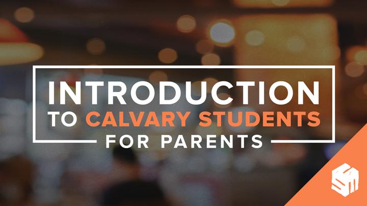 Intro to Calvary Students | Parents logo image
