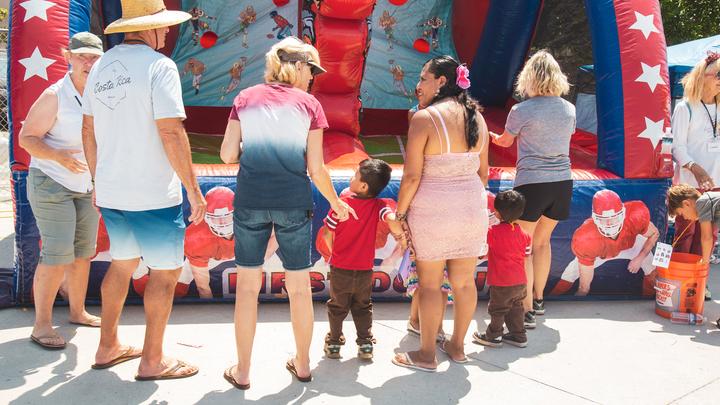 Oak View Back to School Festival logo image
