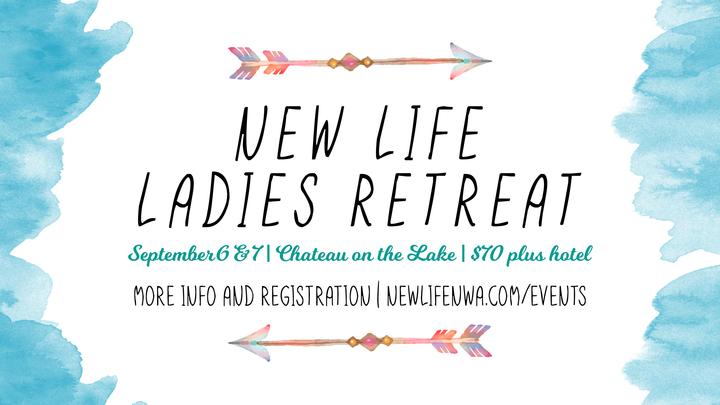 New Life Ladies Retreat 2019 logo image