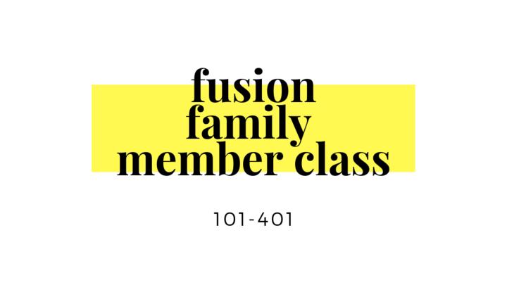 Fusion Family Member Class logo image