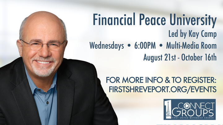 Financial Peace University - facilitated by Kay Camp logo image