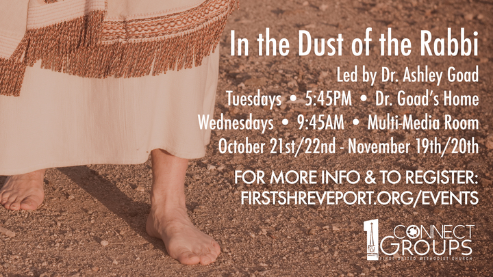 In the Dust of the Rabbi - Women's Study led by Dr. Ashley Goad logo image