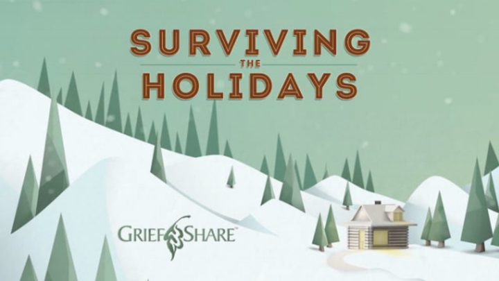 Surviving the Holidays - GriefShare logo image