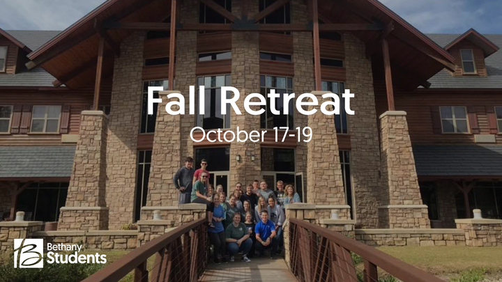 Bethany Students Fall Retreat 2019 logo image