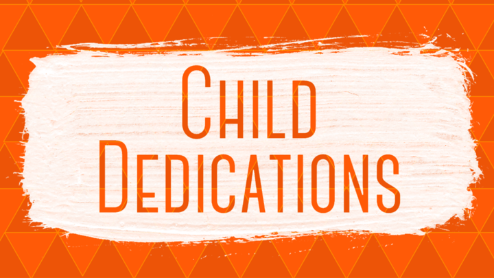 Child Dedication Fall 2019 logo image