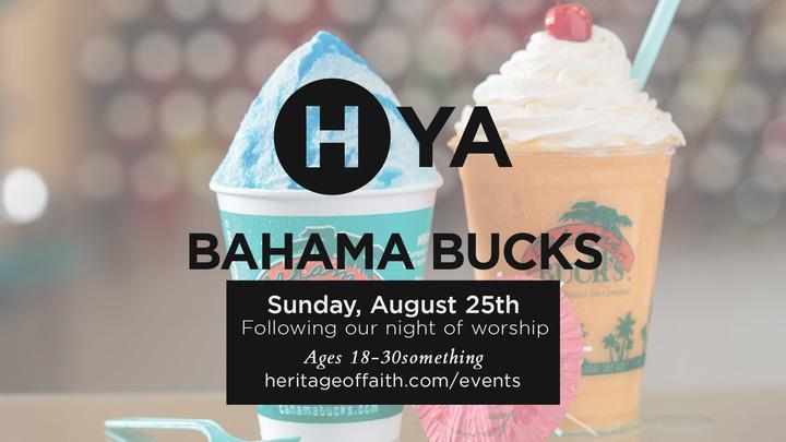 Young Adults || Bahama Buck's logo image