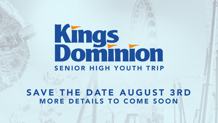 Kings Dominion Senior High Youth Outing logo image