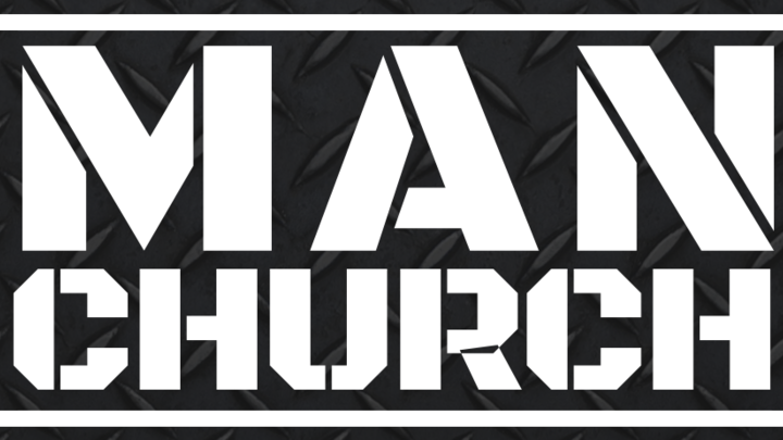 Man Church with Speaker Jared Douglas logo image