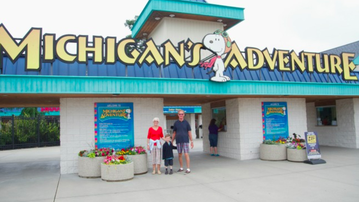 Michigan's Adventure 2019 logo image