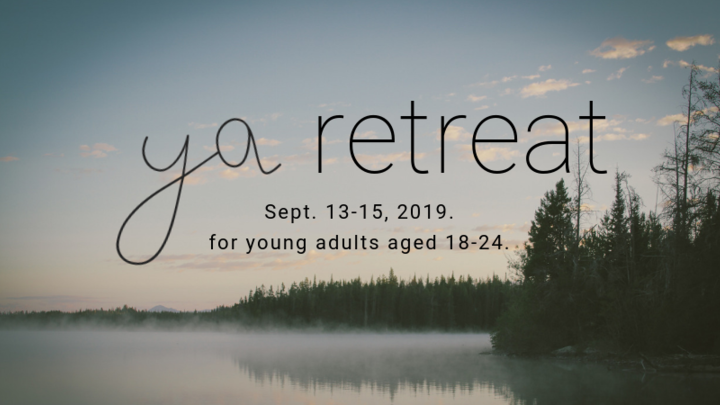 Young Adults Retreat 2019 logo image
