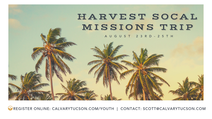 Harvest SoCal Missions Trip logo image