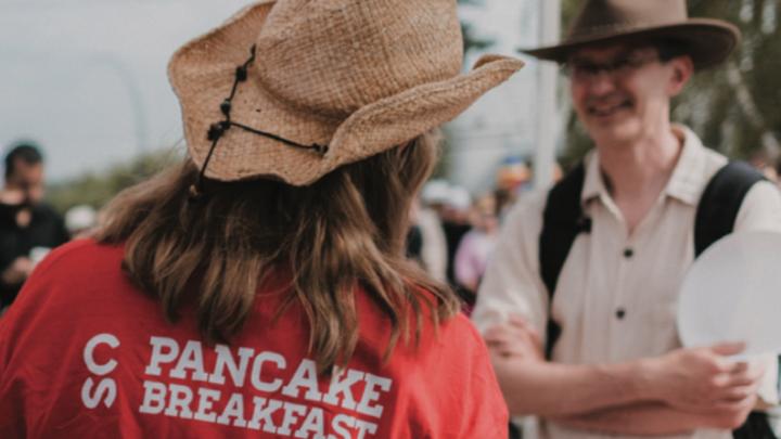 Stampede Breakfast logo image