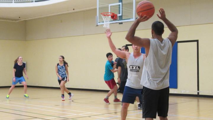 Intramural Basketball logo image