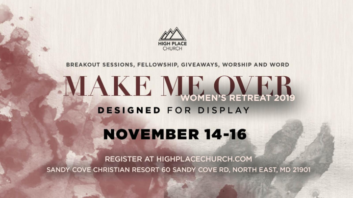 Designed For Display-Women's Retreat logo image