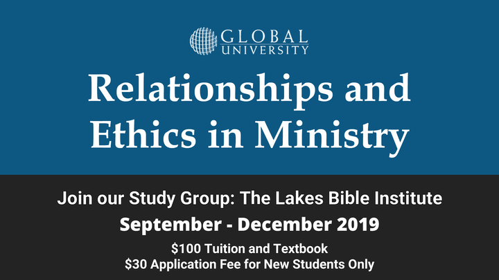 MIN 181 Relationships and Ethics in Ministry Class logo image