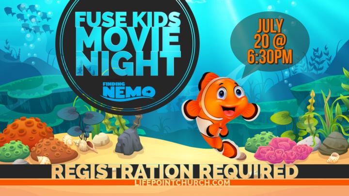 FUSE KIDS Movie Night logo image