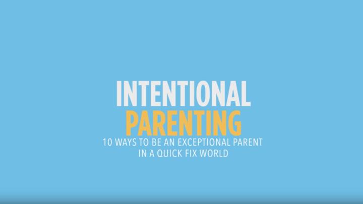 Intentional Parenting Study logo image