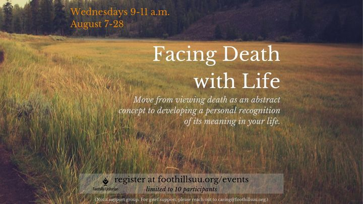 Facing Death with Life logo image