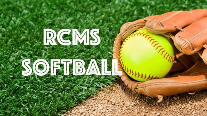 RCMS Girls Softball Registration Fee 2019-2020 logo image