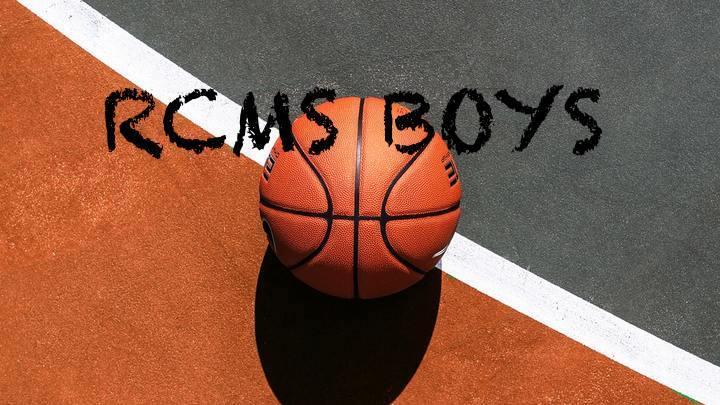 RCMS Boys Basketball Registration Fee 2019-2020 logo image
