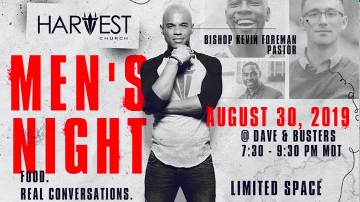 Harvest Church Men's Night logo image
