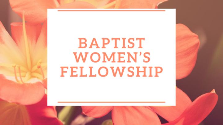 Baptist Women's Fellowship logo image