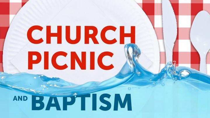 Church Picnic And Baptism logo image