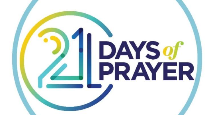 21 Days of Prayer August 1-21, 2019 logo image