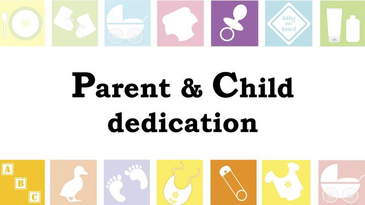 Parent/Child Dedication Classes - Fall 2019 logo image