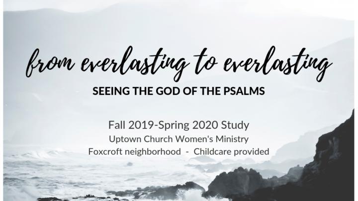 Fall 2019 Uptown Women's Bible Study logo image