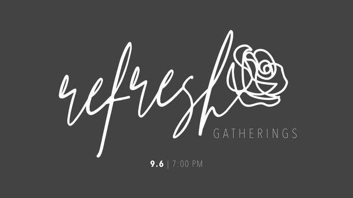 Refresh Gathering logo image