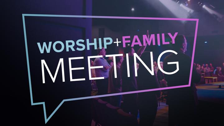 Calvary Family Meeting logo image
