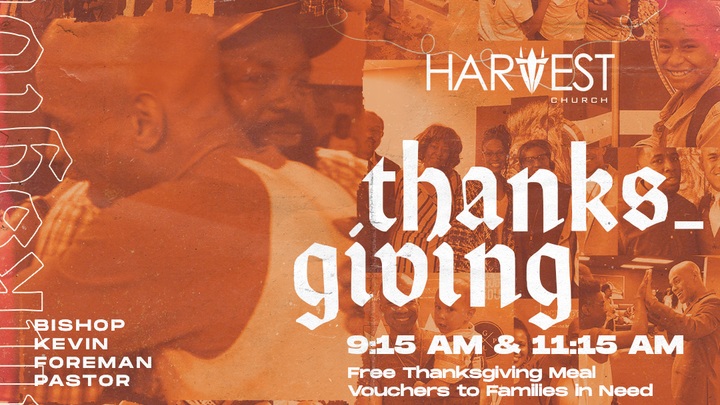 Thanksgiving at Harvest logo image