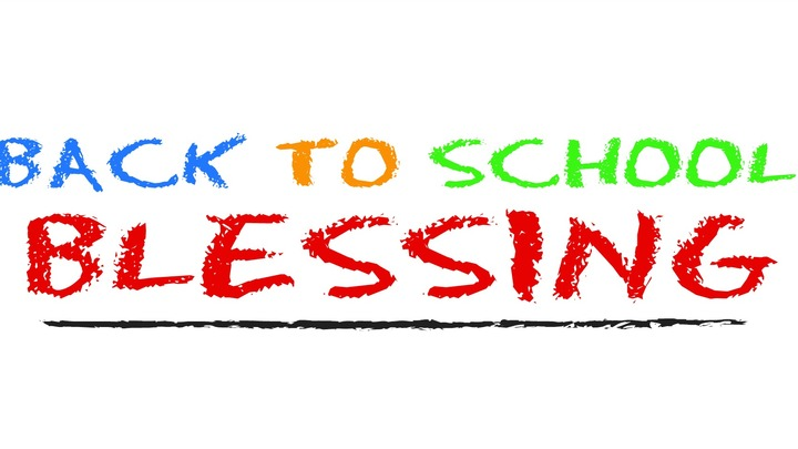 Back to School Blessing logo image