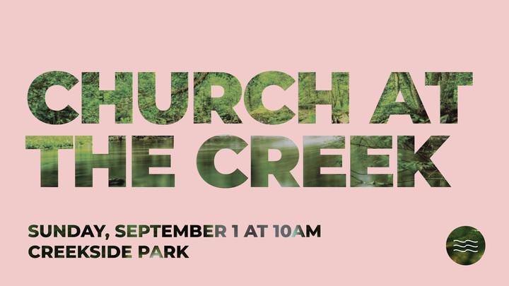 Church at the Creek - Baptism Sign Up! logo image