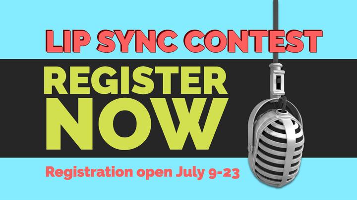 Lip Sync Registration for Contestants logo image