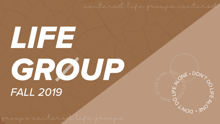 Life Groups  logo image
