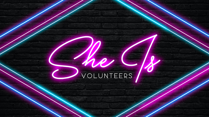 SHE IS: Volunteer Sparta Campus logo image