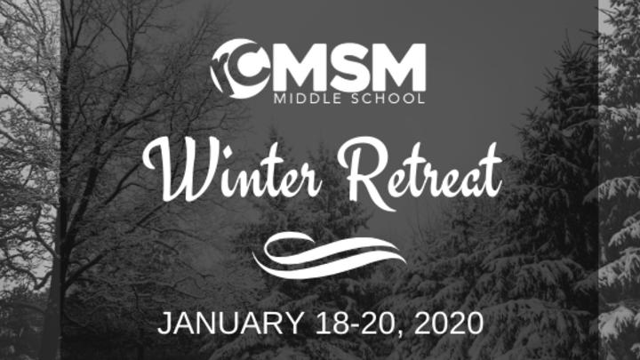 Students Winter Retreat logo image