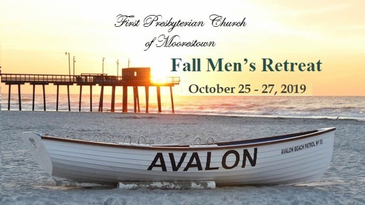 Fall Men's Retreat logo image