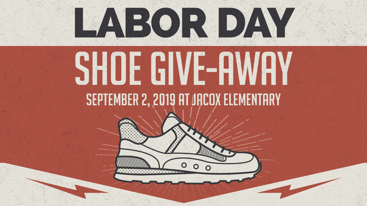 Shoe Give-Away Volunteers logo image