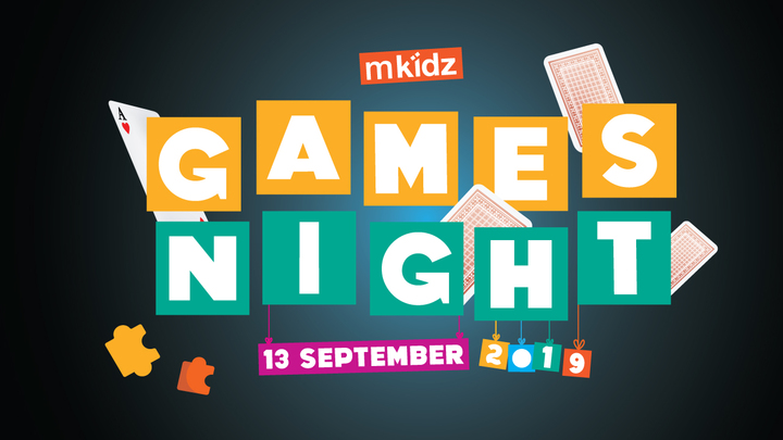 MKidz Games Night logo image
