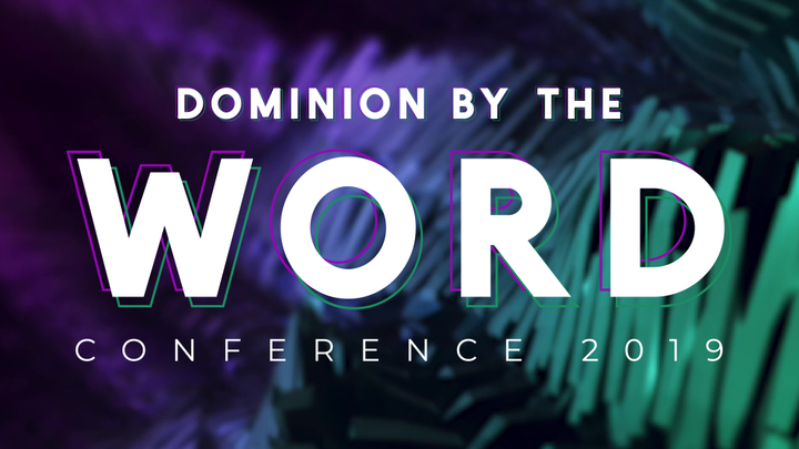 Dominion By The Word Conference  logo image