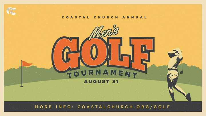 Men's Golf Tournament logo image
