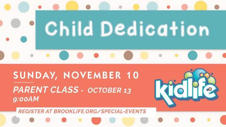 Child Dedication Class logo image