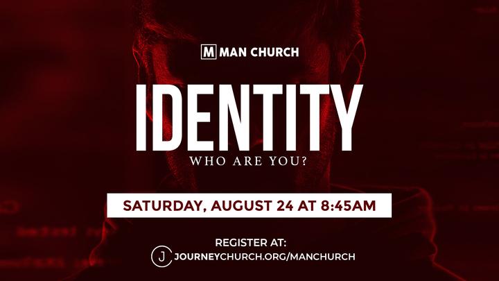 Man Church: Identity - Who Are You? logo image