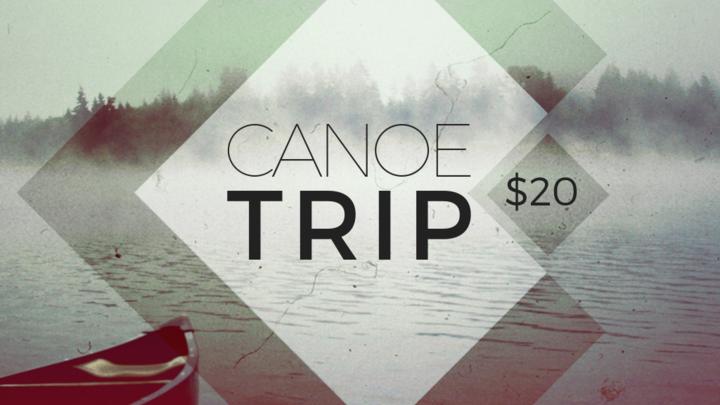 Youth Canoe Trip logo image