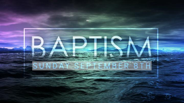Baptism 2019 logo image